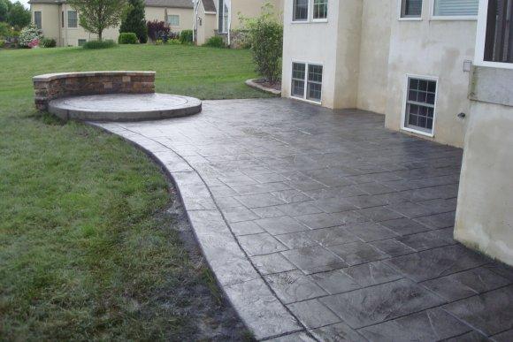 Hormigon impreso benidorm cemento impreso hormigon - Suelos de caucho para exteriores ...